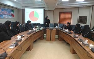 جلسه آموزشی سرطان های شایع زنان برگزار شد.