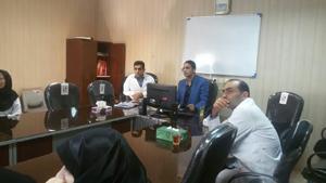 برگزاری جلسه آموزشی بیماری های زئونوز و مالاریا