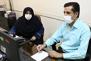 بازدید معاون بهداشتی شبکه از واحد بهبود تغذیه