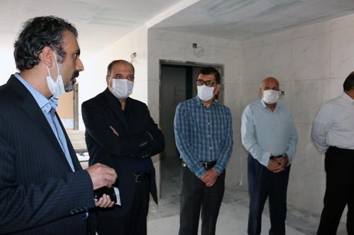 بازدید خیرین سلامت از ثامن