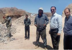 بازدید از معادن سنگ ابوزیدآباد