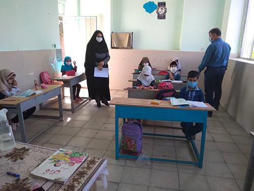 مدارس آران و بیدگل در زمینه رعایت پروتکل های بهداشتی بازرسی شدند.