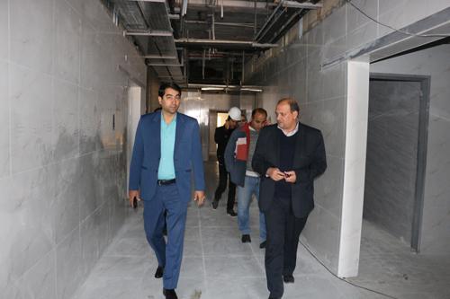 بازدید بیمارستان ثامن