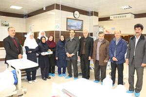 بازدید معاون درمان دانشگاه از بیمارستانها