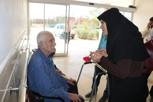 بازدید خانه سالمندان گلابچی