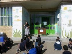 برنامه آموزشی دیابت ویژه دانش آموزان در مدرسه رستگار قاسم آباد ابوزیدآباد برگزار گردید.