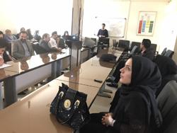 کارگاه آموزشی دیابت وآشنایی با انسولین های مدرن ویژه پرستاران و ماماهای بیمارستان شهید رجایی برگزار شد.