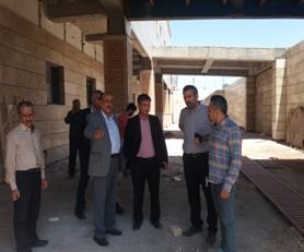 بازدید معاون توسعه دانشگاه از بیمارستان امام حسن (ع) شهرستان آران و بیدگل