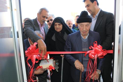 افتتاح درمانگاه سیدالشهدا