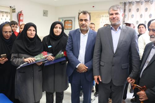 افتتاح مرکز حسین آباد