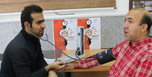 فرماندار به پویش ملی فشار خون پیوست