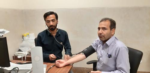 کنترل فشار خون در ادارات
