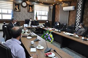 نشست مشترک با رئیس اداره آموزش و پرورش در خصوص بازگشایی مدارس