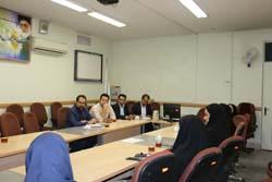 جلسه رابطین روابط عمومی