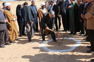 کلنگ زنی خانه بهداشت علی آباد
