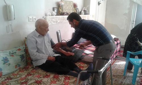 معاینه سالمندان نوش آباد