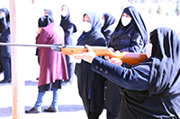 مسابقه تیر اندازی با تفنگ بادی