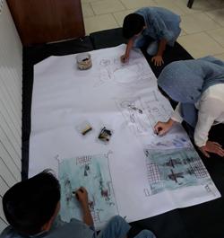 مسابقه نقاشی به مناسبت هفته مواد مخدر