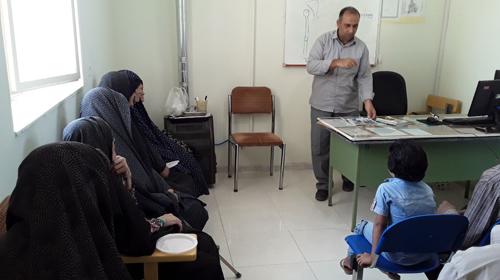 آموزش شیوه زندگی سالم حسین آباد