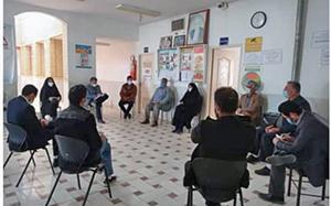 جلسه شورای بهداشتی منطقه سفید دشت برگزار شد.
